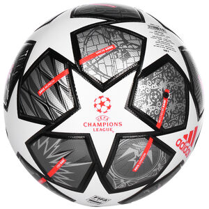 Finale 21 20th Anniversary UCL League Fußball, weiß / grau, zoom bei OUTFITTER Online