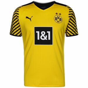 Borussia Dortmund Trikot Home Authentic 2021/2022 Herren, gelb / schwarz, zoom bei OUTFITTER Online