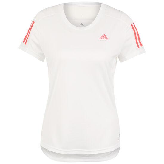 Own The Run Laufshirt Damen, weiß / pink, zoom bei OUTFITTER Online