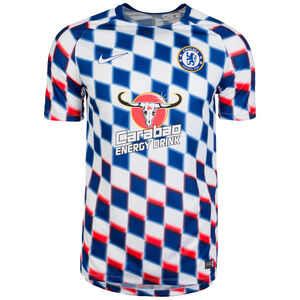 FC Chelsea Dry Squad GX 2 Trainingsshirt Herren, Weiß, zoom bei OUTFITTER Online