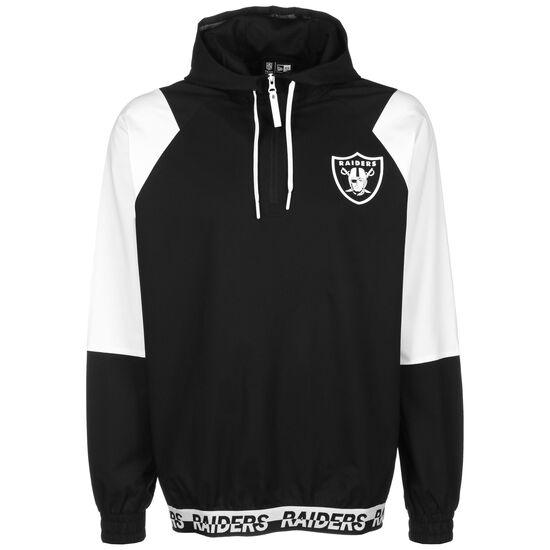 NFL Oakland Raiders Windbreaker Herren, schwarz / weiß, zoom bei OUTFITTER Online