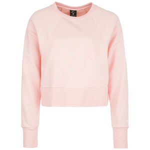 Get Fit Lux Crew Dry Fleece Trainingssweat Damen, rosa, zoom bei OUTFITTER Online