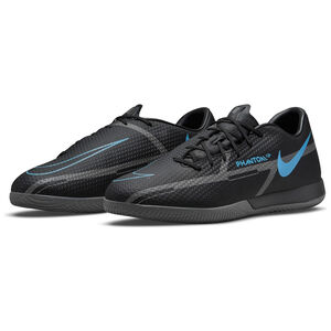 Phantom GT2 Academy Indoor Fußballschuh Herren, schwarz / blau, zoom bei OUTFITTER Online