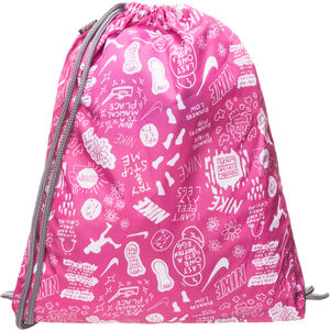 Printed Turnbeutel Kinder, rosa / weiß, zoom bei OUTFITTER Online
