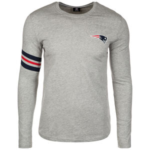NFL New England Patriots Muscle Fit Longsleeve Herren, Grau, zoom bei OUTFITTER Online