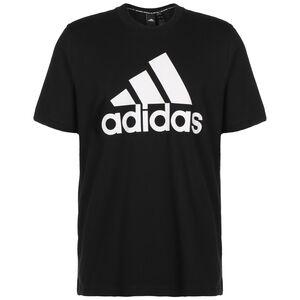 Must Haves Badge Of Sport Trainingsshirt Herren, schwarz, zoom bei OUTFITTER Online
