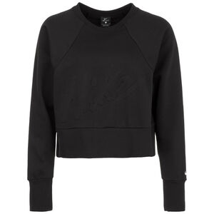 Get Fit Lux Crew Dry Fleece Trainingssweat Damen, schwarz, zoom bei OUTFITTER Online