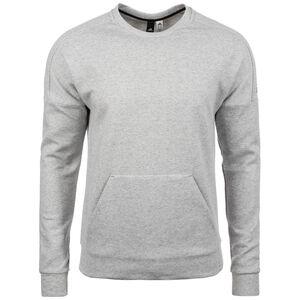 ID Stadium Crew Sweatshirt Herren, grau / schwarz, zoom bei OUTFITTER Online