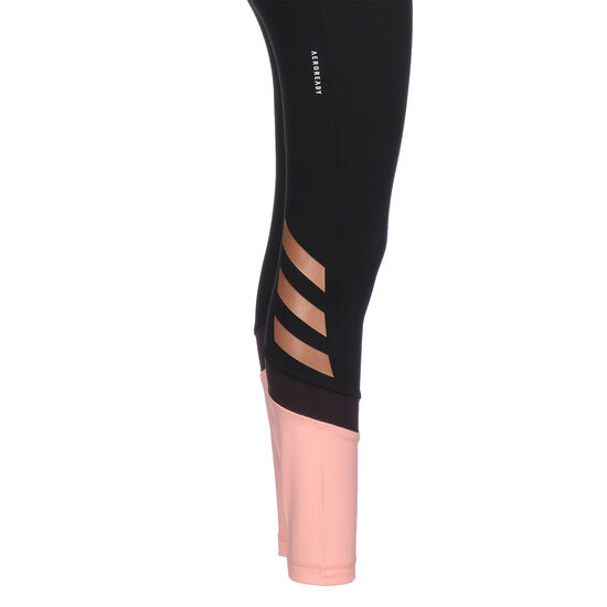 The Future Today Trainingstight Kinder, schwarz / rosa, zoom bei OUTFITTER Online