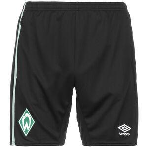 SV Werder Bremen Trainingsshorts Herren, schwarz / grün, zoom bei OUTFITTER Online