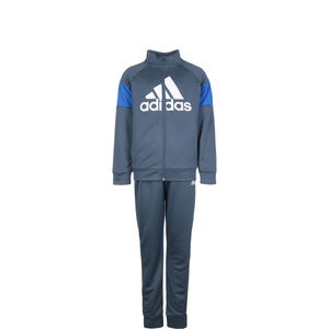 Badge of Sport Trainingsanzug Kinder, blau / weiß, zoom bei OUTFITTER Online