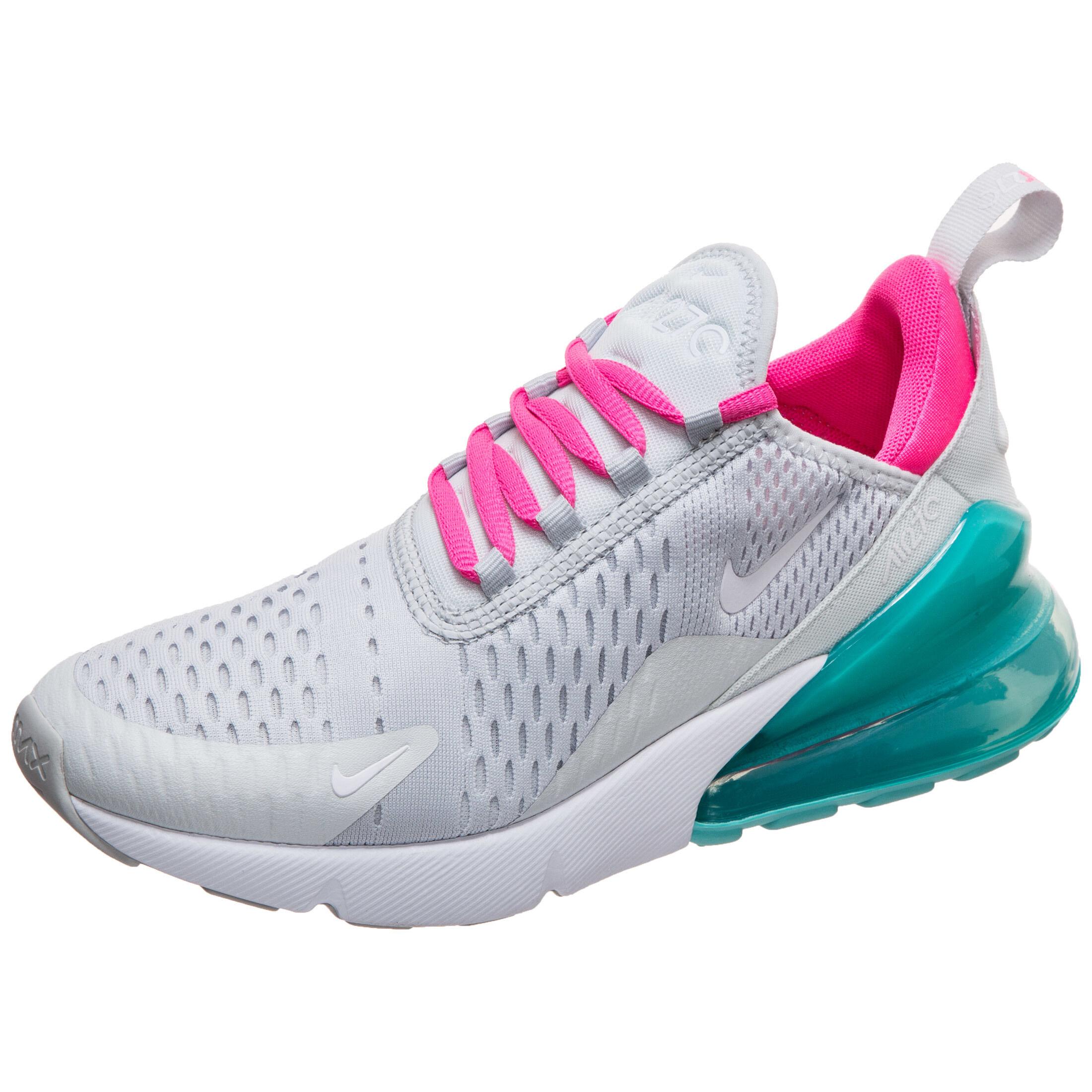 Online Nike Air Max TN Frauen Leder Weiß Pink Großer