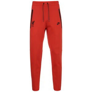 FC Liverpool Tech Fleece Jogginghose Herren, rot / schwarz, zoom bei OUTFITTER Online