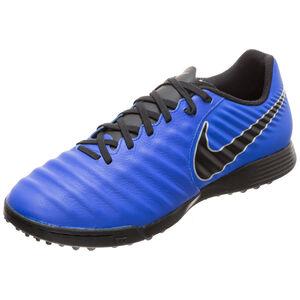 Tiempo LegendX VII Academy TF Fußballschuh Herren, blau / schwarz, zoom bei OUTFITTER Online