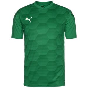 teamFinal 21 Graphic Fußballtrikot Herren, dunkelgrün / grün, zoom bei OUTFITTER Online