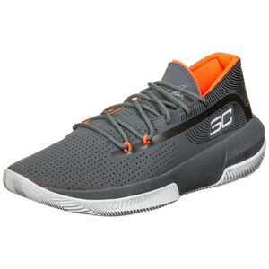 SC 3Zero III Basketballschuh Herren, grau / türkis, zoom bei OUTFITTER Online