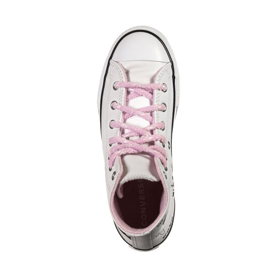 Chuck Taylor All Star Sneaker Kinder, weiß / rosa, zoom bei OUTFITTER Online