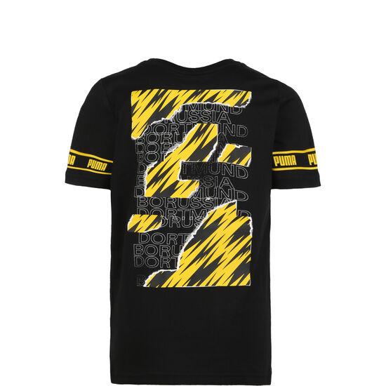 Borussia Dortmund FtblCulture T-Shirt Kinder, schwarz / gelb, zoom bei OUTFITTER Online