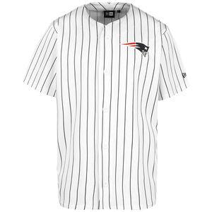 NFL New England Patriots Pinstripe Trikot Herren, weiß / schwarz, zoom bei OUTFITTER Online