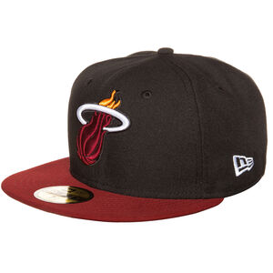 59FIFTY NBA Basic Miami Heat Cap, Schwarz, zoom bei OUTFITTER Online