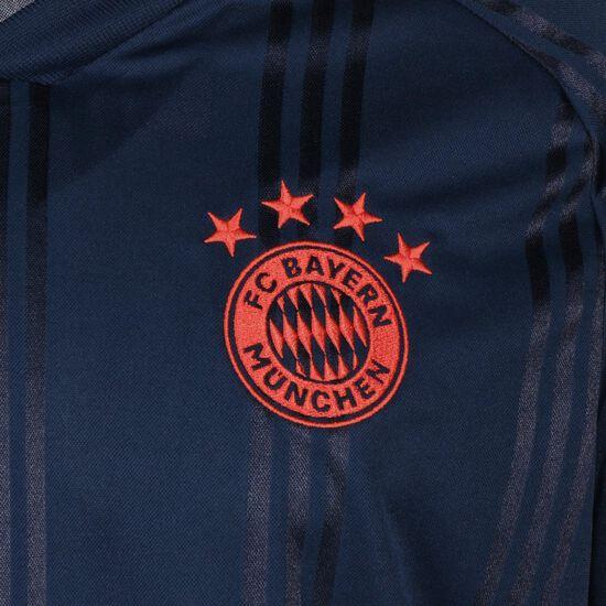 FC Bayern München Icons Longsleeve Herren, dunkelblau / rot, zoom bei OUTFITTER Online