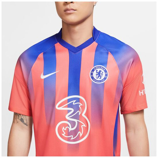 FC Chelsea Trikot 3rd Stadium 2020/2021 Herren, korall / blau, zoom bei OUTFITTER Online