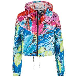 Hyper Woven Kapuzenjacke Damen, pink / blau, zoom bei OUTFITTER Online