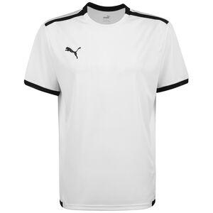 TeamLIGA Fußballtrikot Herren, weiß / schwarz, zoom bei OUTFITTER Online