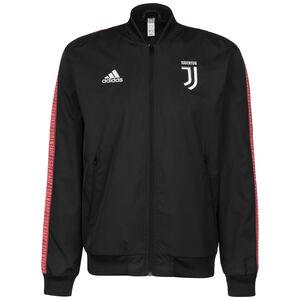 Juventus Turin Anthem Jacke Herren, schwarz / weiß, zoom bei OUTFITTER Online