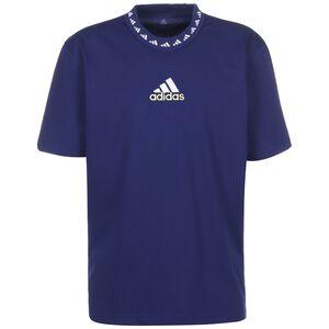 Juventus Turin Icon T-Shirt Herren, blau / weiß, zoom bei OUTFITTER Online