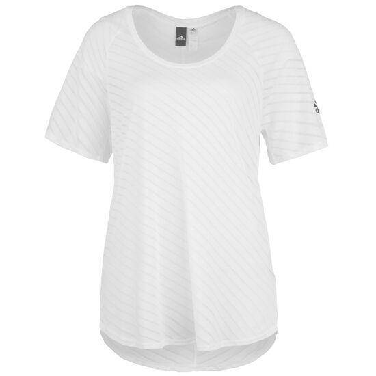 Burnout Trainingsshirt Damen, weiß, zoom bei OUTFITTER Online