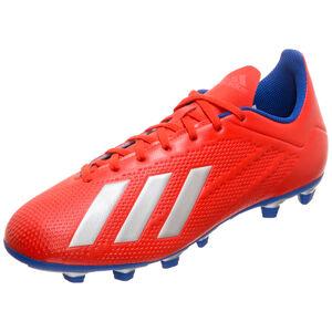 X 18.4 FG Fußballschuh Herren, rot / blau, zoom bei OUTFITTER Online