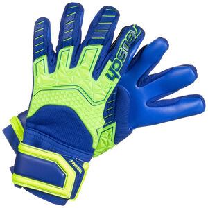 Attrakt Freegel S1 Junior LTD Torwarthandschuh Kinder, neongelb / blau, zoom bei OUTFITTER Online