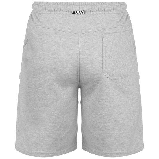 Knee Length Fleece Trainingsshort Herren, grau, zoom bei OUTFITTER Online
