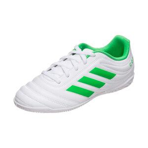 Copa 19.4 FG Fußballschuh Kinder, weiß / neongrün, zoom bei OUTFITTER Online