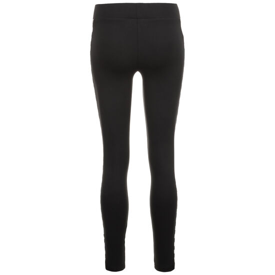 Side Check Leggings Damen, schwarz / weiß, zoom bei OUTFITTER Online