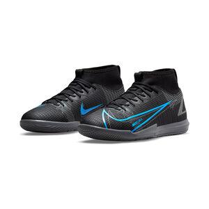 Mercurial Superfly 8 Academy DF Indoor Fußballschuh Kinder, schwarz / blau, zoom bei OUTFITTER Online