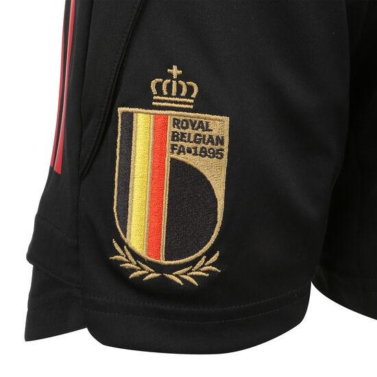 RBFA Belgien Trainingsshort EM 2020 Kinder, schwarz, zoom bei OUTFITTER Online
