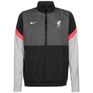 FC Liverpool Windbreaker Herren, schwarz / grau, zoom bei OUTFITTER Online