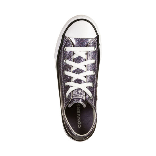 Chuck Taylor All Star OX Sneaker, lila / silber, zoom bei OUTFITTER Online