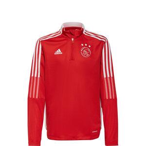 Ajax Amsterdam Trainingssweat Kinder, rot / weiß, zoom bei OUTFITTER Online