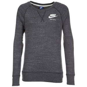 Gym Vintage Crew Sweatshirt Damen, dunkelgrau / weiß, zoom bei OUTFITTER Online