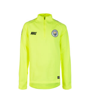 Manchester City Dry Squad Longsleeve Kinder, neongelb / schwarz, zoom bei OUTFITTER Online