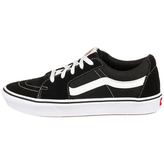 Sk8-Low ComfyCush Sneaker, schwarz / weiß, zoom bei OUTFITTER Online