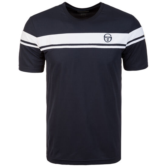 Young Line Pro T-Shirt Herren, dunkelblau / weiß, zoom bei OUTFITTER Online