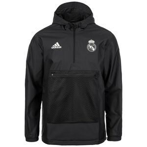 Seasonal Specials Real Madrid Windbreaker Kapuzenjacke Herren, Schwarz, zoom bei OUTFITTER Online