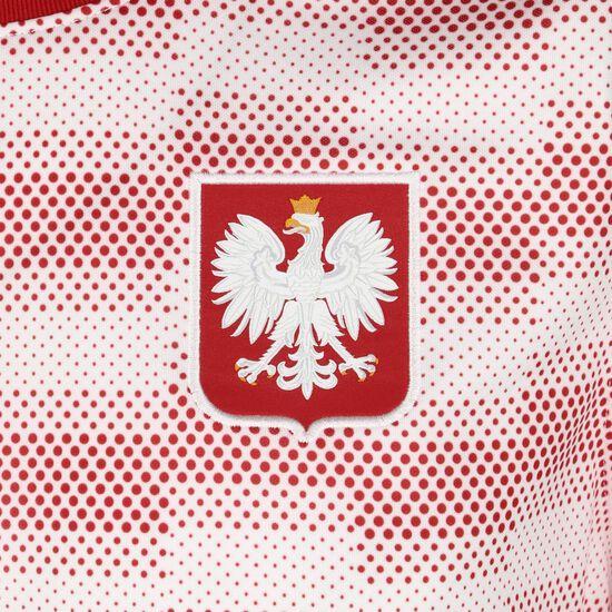 Polen Breathe Trainingsshirt EM 2021 Herren, weiß / rot, zoom bei OUTFITTER Online