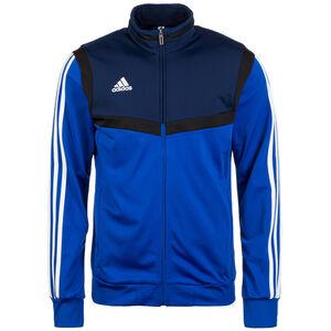 Tiro 19 Polyester Trainingsjacke Herren, blau / dunkelblau, zoom bei OUTFITTER Online