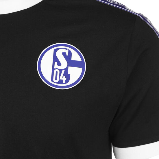 FC Schalke 04 Icon Ringer T-Shirt Herren, schwarz, zoom bei OUTFITTER Online