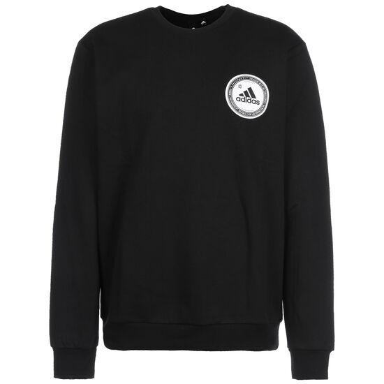 Collegiate Crew Sweatshirt Herren, schwarz, zoom bei OUTFITTER Online
